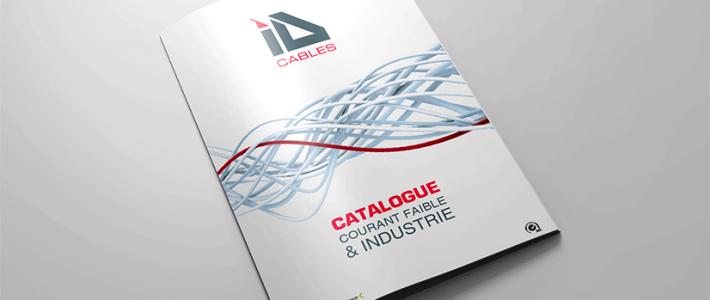 ID CABLES, présente la nouvelle offre de câbles industrie dans son catalogue Courant faible et Industrie 2015…